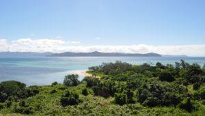 Splendide vu du sommet de l'îlot Uo